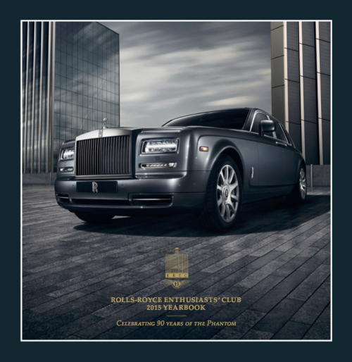 2015 Rolls Royce Enthusiasts Club Book