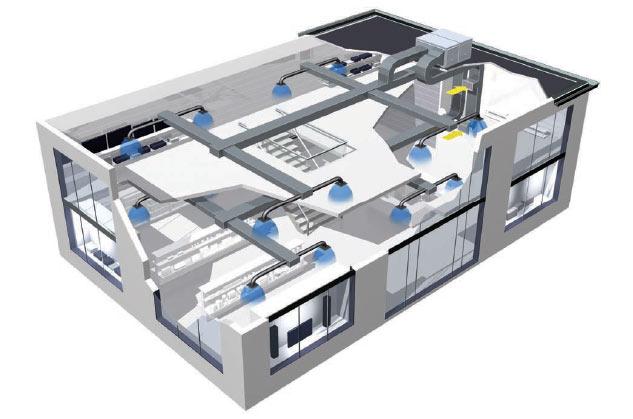 Rooftop-air-con-diagram