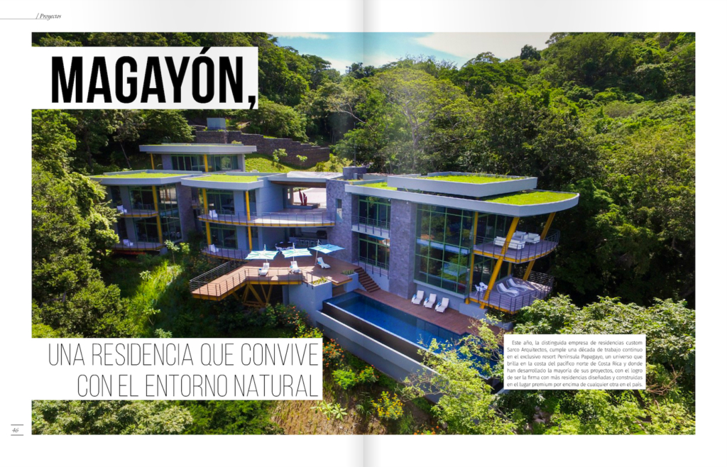 Sarco Architects Costa Rica on Revista A+C Moderna
