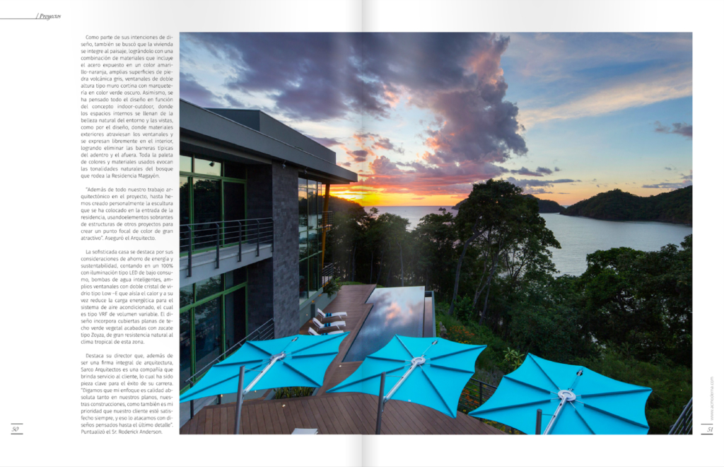 Casa Magayon Revista A+C Moderna_Architects Costa Rica_Pag3