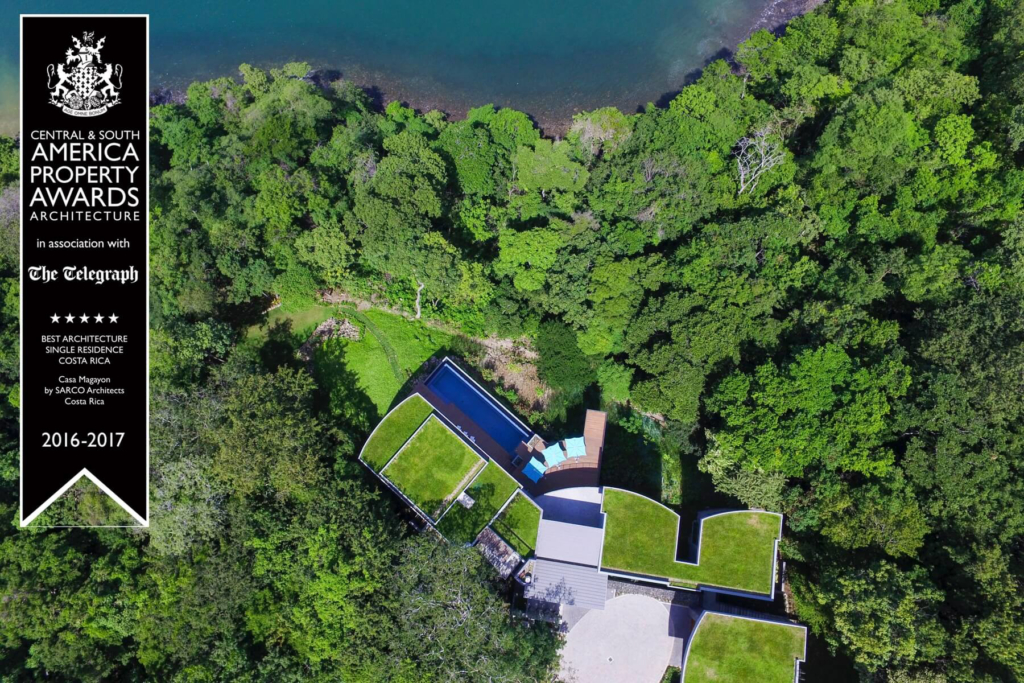 Sarco Architects Costa Rica award winner project