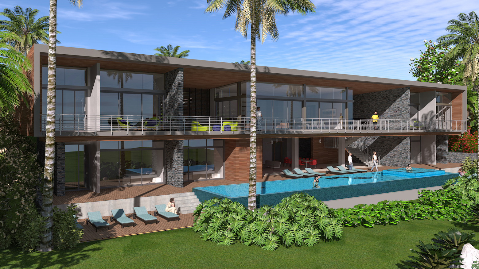 Luxury Resort by Sarco Architects in Dominican Republic