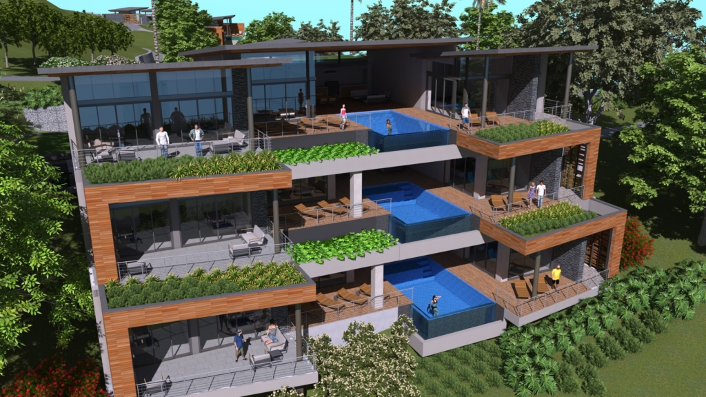 Carey Residences by Sarco Architects Costa Rica in Dominican Republic