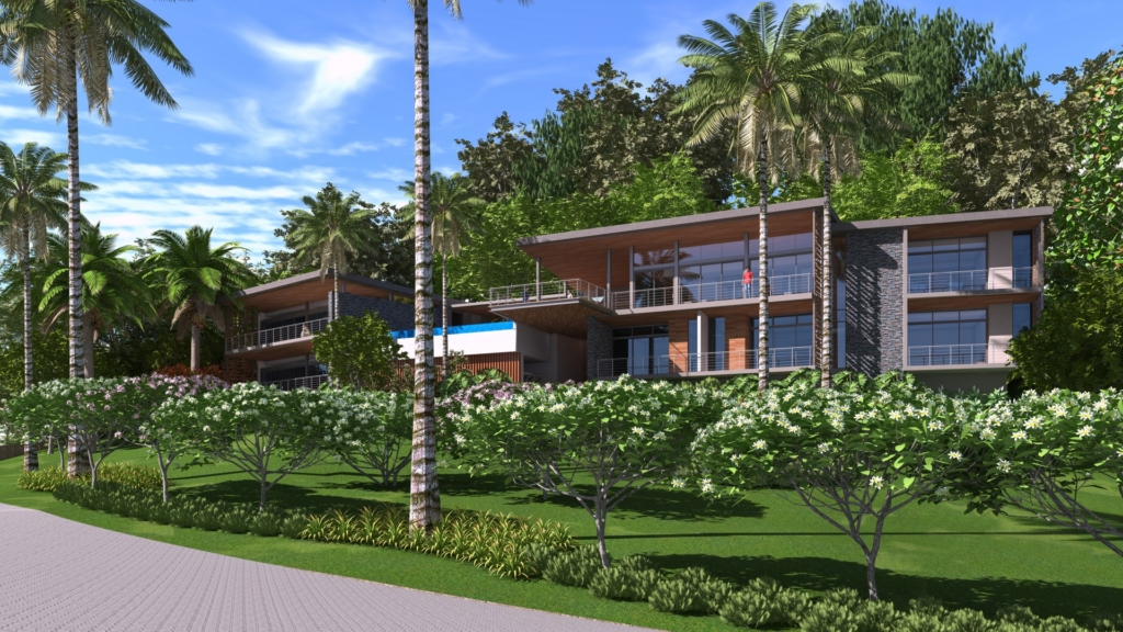 Taina Estate Residence by Sarco Architects Costa Rica in the Dominican Republic